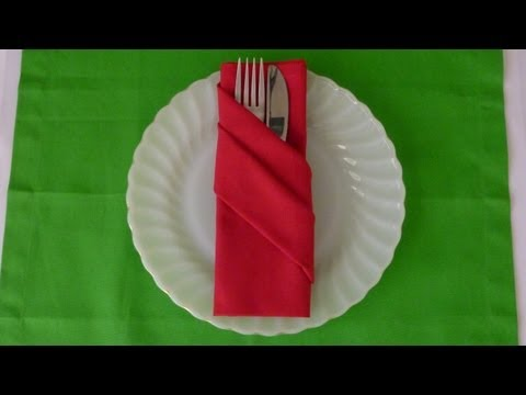 paper napkin folding styles Clear animations showing how to fold napkins: the methods most frequently used for restaurants, clubs and private parties.