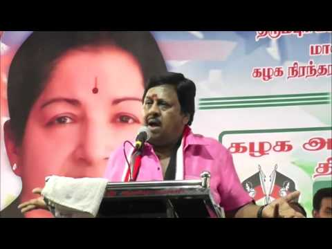 Actor Ramarajan Teasing Stalin And Vijayakanth - Comedy Speech - Must Watch