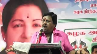 Actor Ramarajan Teasing Stalin And Vijayakanth - Comedy Speech - Must Watch