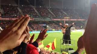 Lens Istres clapping FDL
