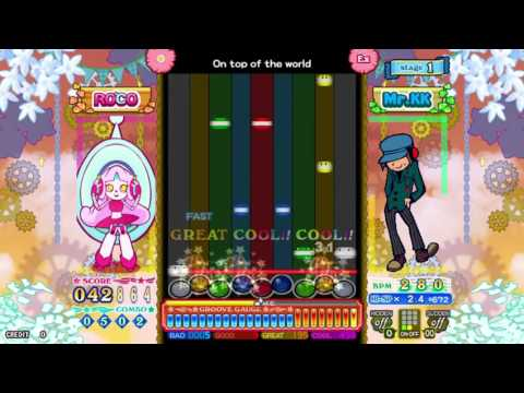 pop'n music éclale - On top of the world (EX)