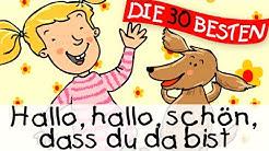 Hallo Hallo schön dass du da bist - Bewegungslieder zum Mitsingen || Kinderlieder