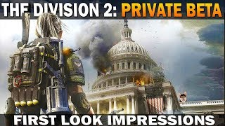The Division 2 Private Beta First Impressions Gameplay [PC 4k 60FPS]