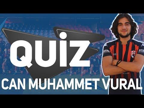 2. Hafta Quiz , Bu Haftanın Konuğu Can Muhammet Vural