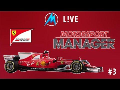 Motorsport Manager L!VE - Lesz-e újabb győzelem a Ferrarinak? #3