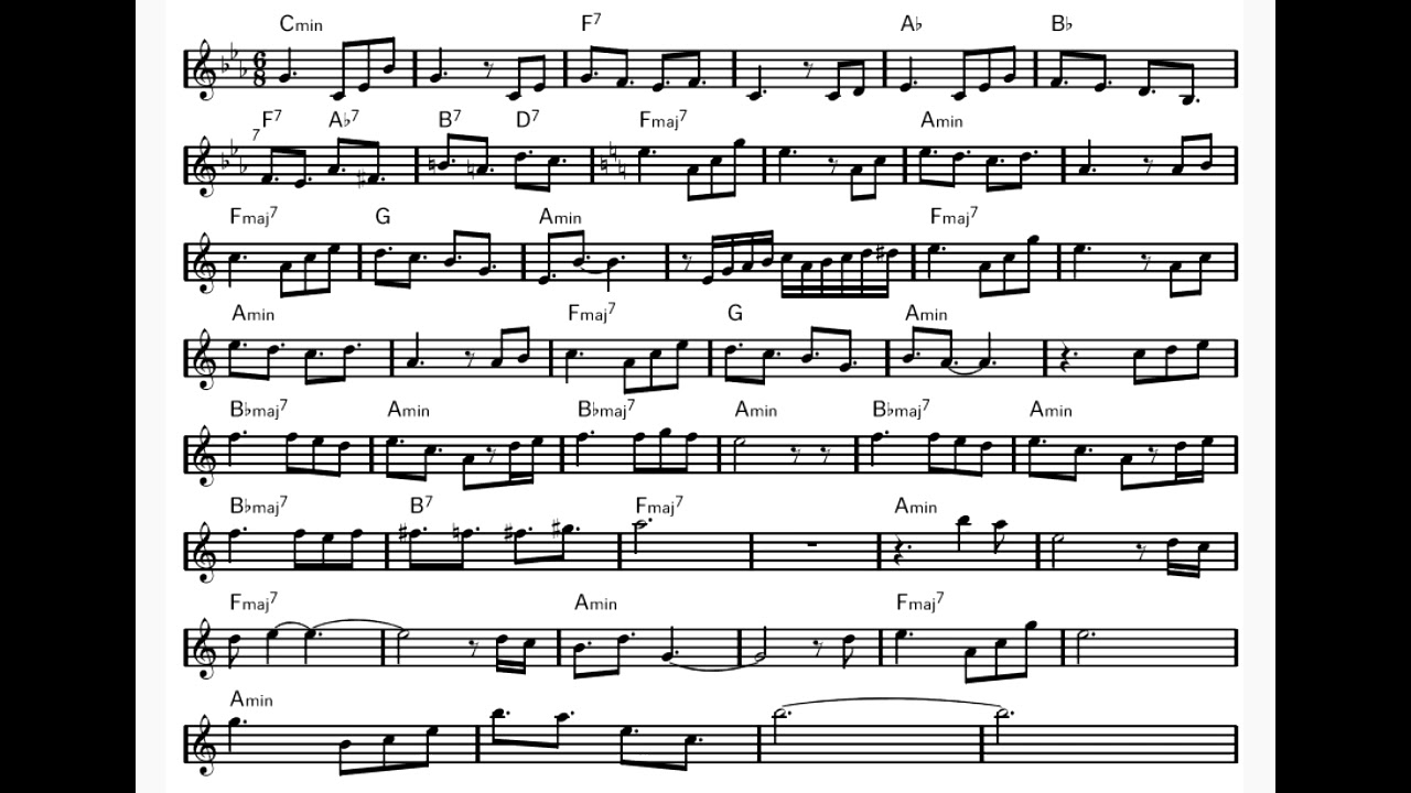 Outkast - Roses (intro) piano sheet music   tori in 2019 ...