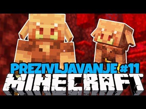 Pronasli Smo NOVE NETHER MOBOVE I Izgubili Se ! - Minecraft Prezivljavanje #11