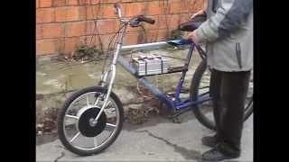 Shkondin asymmetric pulse wheel-motor generator - engl.CC