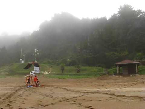 Shilla Hotel beach in Jeju Island