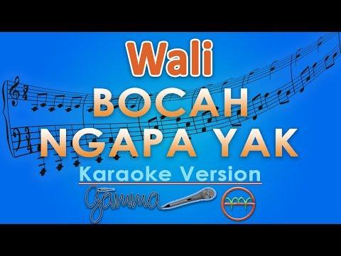 Wali - Bocah Ngapa Yak (Karaoke Lirik Tanpa Vokal) by GMusic