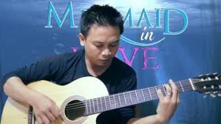 mermaid in love theme guitar acoustic