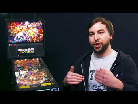 The making of Stern Pinball's Iron Maiden game
