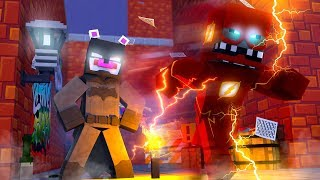 Batman and The Flash Team Up! Minecraft FNAF Roleplay