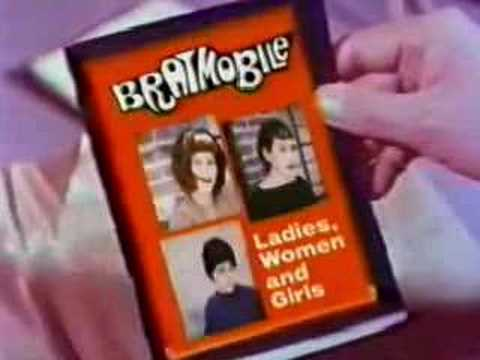 """Bratmobile - """"Eating Toothpaste"""" Lookout! Records"""