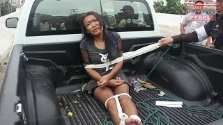 Девушку самоубийцу связали в Паттайе