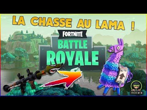 Fortnite Battle Royale La Chasse Au Lama Ep
