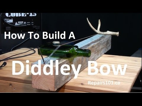 Diddley Bow - How to Build A Traditional One String Instrument