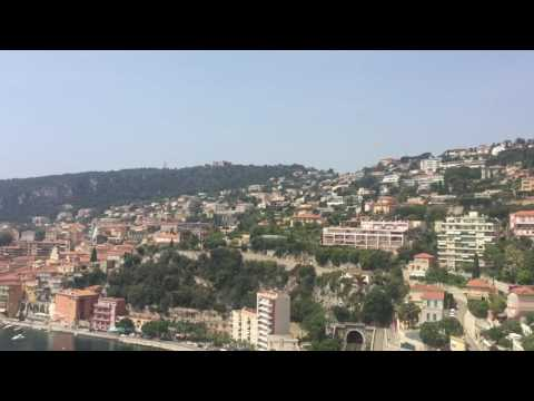 Awesome Nice France Coastline - Trading Penny Stocks plus world traveler diary