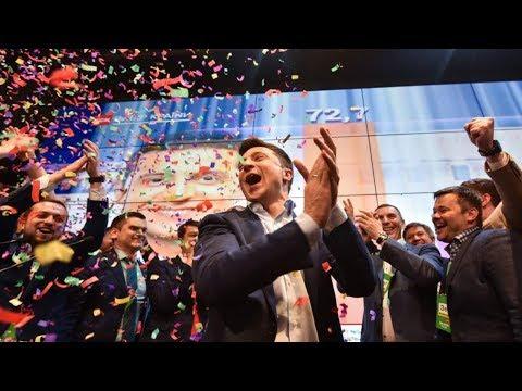 Ukraine's 'Donald Trump' Wins Presidency in Landslide!!!