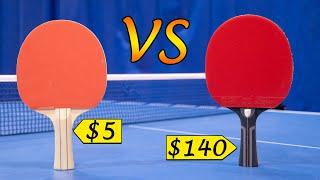 $5 Racket Vs. $140 Racket