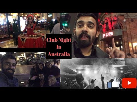 Saturday Night Club In Sydney(Australia) V-log-3