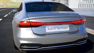 Audi A7 Sportback 2018 HIGH TECH FEATURES смотреть