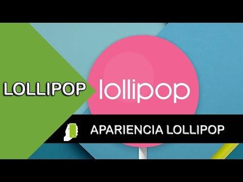 Sony Xperia E4  Cambialo Apariencia Lollipop