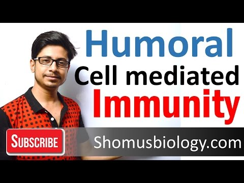Immune response | Humoral and cell mediated immunity | innate and adaptive immunity