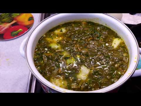 Щавелевый суп: рецепт классического супа из щавеля