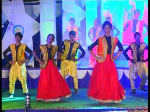 Kande Kande parashivana !!! Dance by students of Vishwabharathi high school