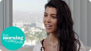 Kourtney Kardashian Reveals Her Beauty Secrets | This Morning