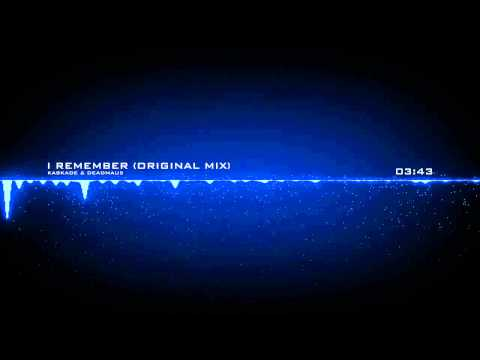 Kaskade & Deadmau5 - I Remember (Original Mix)