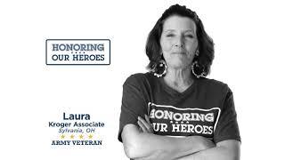 Honoring our Heroes Veteran Laura │VIDEO │Kroger