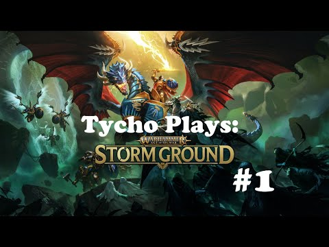 Age Of Sigmar Storm Ground! First Playthrough Part #1 |