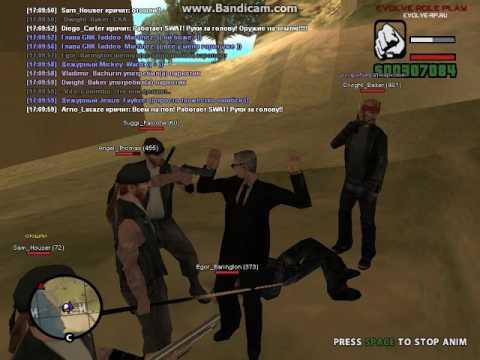 Evolve RP | FBI | Попытка похищения меня от ОПГ Mongols MC.