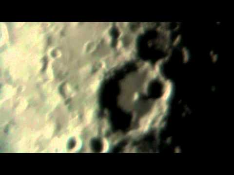 Albategnius and Hipparchus Craters video HD Pt 1