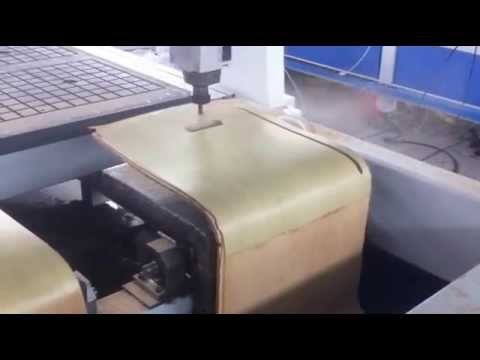KFC Chairs, Bentwood Chair Making CNC Router