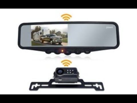 Yuwei YW-34332 Wireless Backup Camera Installation To An RV Trailer ...