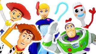 Disney Pixar Toy Story 4 True Talkers Woody, Buzz, Forky! Get everyone together! #DuDuPopTOY