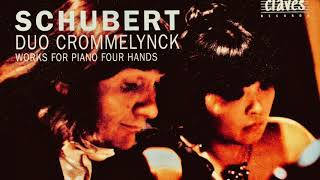 Schubert - Piano Works for Four Hands / Fantasie D.940.. (Century's recording : Duo Crommelynck)