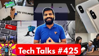 Tech Talks #425 - Redmi Note 5 Pro, Electronic Shock, S9 4GB, JioPhone Facebook, 5G in Olympics 2018