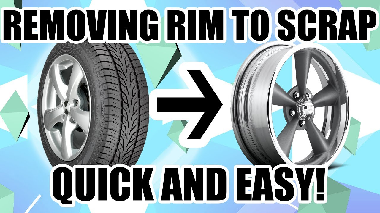 Best Way I Know How To Get Tires Off Rims Fast Amp Easy