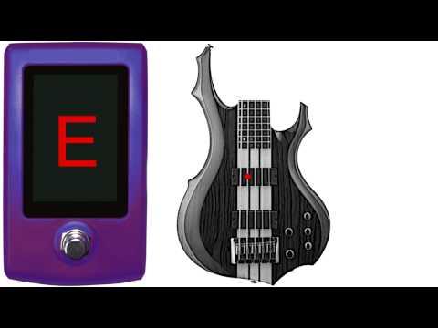 bass tuner - 5 string standard