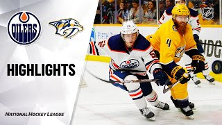 NHL Highlights | Oilers @ Predators 3/2/20