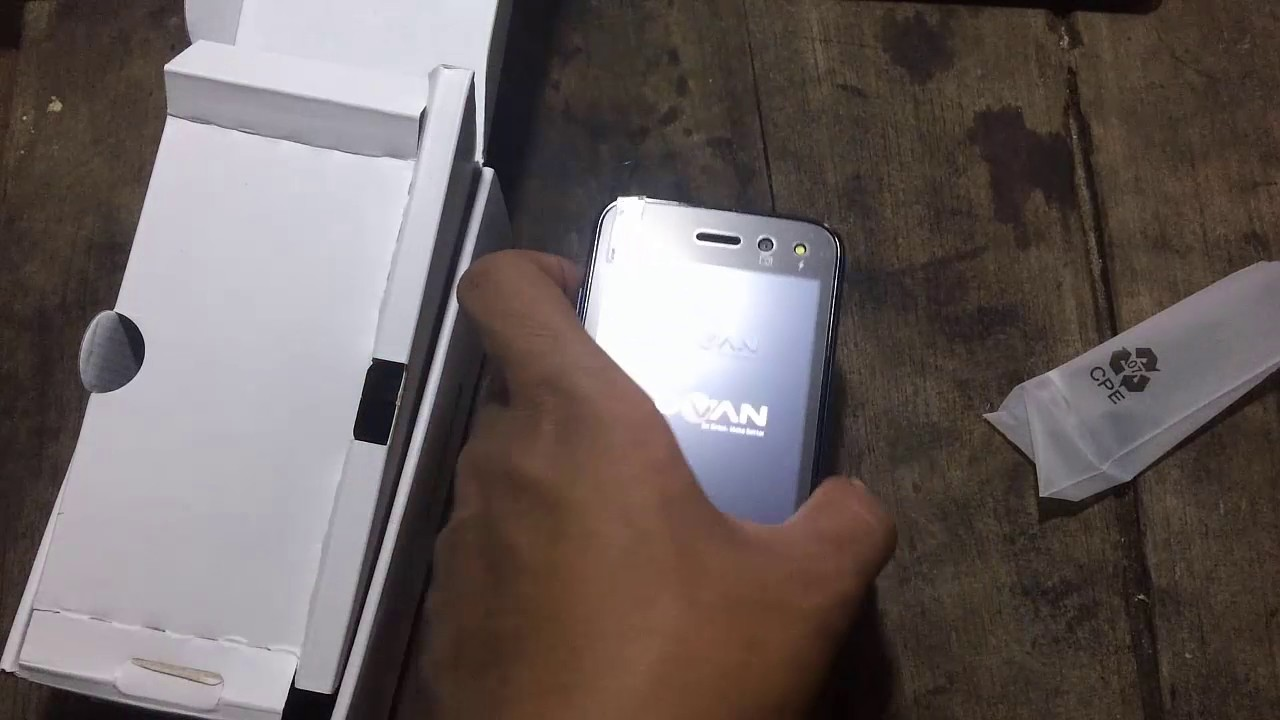 Unboxing Advan S4z Terbaru Youtube