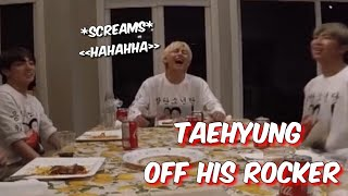 what goes on in taehyung´s brain?