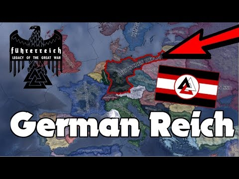 Hearts of Iron 4 - Hardest Possible Game - Fuhrerreich