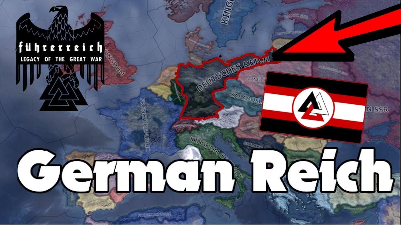 Hoi4 Fuhrerreich Lebensraum For Germany Youtube