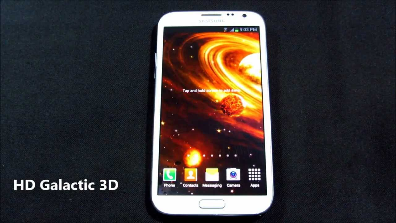 10 Best Live Wallpapers For Android 2013 New