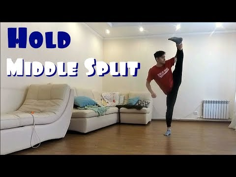 Leg Hold Middle Split  Routine   Stretching and Flexibility